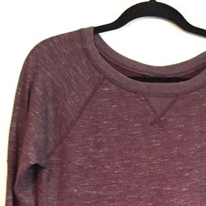 Banana Republic Oversized Purple Sweater Top